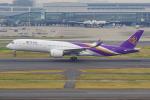 PASSENGERさんが、羽田空港で撮影したタイ国際航空 A350-941XWBの航空フォト(写真)