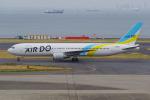 PASSENGERさんが、羽田空港で撮影したAIR DO 767-381の航空フォト(写真)