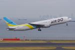 PASSENGERさんが、羽田空港で撮影したAIR DO 767-33A/ERの航空フォト(写真)
