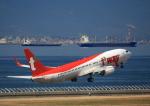 タミーさんが、中部国際空港で撮影したティーウェイ航空 737-8Q8の航空フォト(写真)