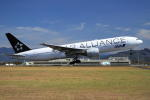 wish-blueさんが、高知空港で撮影した全日空 777-281の航空フォト(写真)