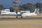 キイロイトリさんが、鹿児島空港で撮影した日本エアコミューター DHC-8-402Q Dash 8の航空フォト(写真)