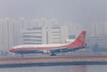 JA8037さんが、啓徳空港で撮影した香港ドラゴン航空 L-1011-385-1 TriStar 1の航空フォト(写真)