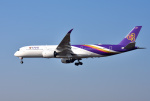 mojioさんが、成田国際空港で撮影したタイ国際航空 A350-941XWBの航空フォト(写真)