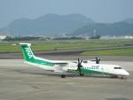 つっさんさんが、高知空港で撮影したANAウイングス DHC-8-402Q Dash 8の航空フォト(写真)