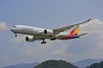 tsubameさんが、福岡空港で撮影したアシアナ航空 A350-941XWBの航空フォト(写真)
