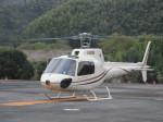 ランチパッドさんが、静岡ヘリポートで撮影したオートパンサー AS350B2 Ecureuilの航空フォト(写真)