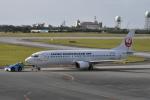 たっしーさんが、宮古空港で撮影した日本トランスオーシャン航空 737-446の航空フォト(写真)