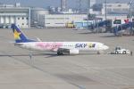 のんびりこまきさんが、中部国際空港で撮影したスカイマーク 737-86Nの航空フォト(写真)