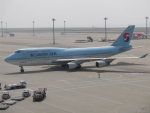 のんびりこまきさんが、中部国際空港で撮影した大韓航空 747-4B5の航空フォト(写真)
