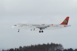 marariaさんが、青森空港で撮影したトランスアジア航空 A321-131の航空フォト(写真)