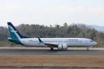 いんふぃさんが、広島空港で撮影したシルクエア 737-8-MAXの航空フォト(写真)