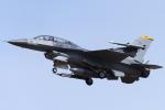 YAMMARさんが、三沢飛行場で撮影したアメリカ空軍 F-16DM-50-CF Fighting Falconの航空フォト(写真)