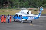 CL&CLさんが、奄美空港で撮影した海上保安庁 S-76Dの航空フォト(写真)