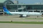 uhfxさんが、仁川国際空港で撮影したガルーダ・インドネシア航空 A330-343Xの航空フォト(飛行機 写真・画像)