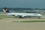 uhfxさんが、仁川国際空港で撮影したルフトハンザドイツ航空 A340-642Xの航空フォト(飛行機 写真・画像)