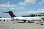 SAMBAR_LOVEさんが、ワシントン・ダレス国際空港で撮影したデルタ航空 MD-88の航空フォト(写真)
