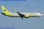 Chofu Spotter Ariaさんが、関西国際空港で撮影したジンエアー 737-86Nの航空フォト(飛行機 写真・画像)