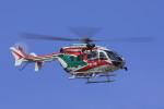 ピーチさんが、岡山空港で撮影した香川県防災航空隊 BK117C-2の航空フォト(写真)