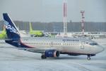 ちゅういちさんが、ドモジェドヴォ空港で撮影したノルダヴィア 737-5Y0の航空フォト(飛行機 写真・画像)
