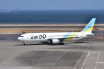 JA8501さんが、羽田空港で撮影したAIR DO 767-33A/ERの航空フォト(写真)