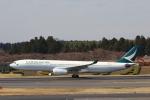 prado120さんが、成田国際空港で撮影したキャセイパシフィック航空 A330-342の航空フォト(写真)