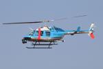 なごやんさんが、名古屋飛行場で撮影した神奈川県警察 206L-4 LongRanger IVの航空フォト(写真)