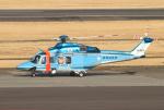 なごやんさんが、名古屋飛行場で撮影した鹿児島県警察 AW139の航空フォト(写真)