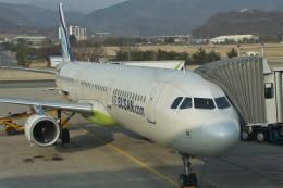 masa707さんが、大邱国際空港で撮影したエアプサン A321-231の航空フォト(飛行機 写真・画像)