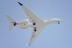 cornicheさんが、ドーハ国際空港で撮影したカタール・エグゼクティブ G650ER (G-VI)の航空フォト(飛行機 写真・画像)