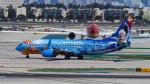LAX Spotterさんが、ロサンゼルス国際空港で撮影したウェストジェット 737-8CTの航空フォト(写真)