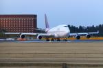 ハネヨンさんが、成田国際空港で撮影したタイ国際航空 747-4D7の航空フォト(写真)