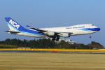 ハネヨンさんが、成田国際空港で撮影した日本貨物航空 747-4KZF/SCDの航空フォト(写真)