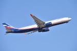 mojioさんが、成田国際空港で撮影したアエロフロート・ロシア航空 A330-343Xの航空フォト(飛行機 写真・画像)