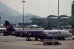 ハピネスさんが、香港国際空港で撮影した香港エクスプレス A321-231の航空フォト(飛行機 写真・画像)