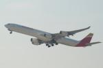 セブンさんが、関西国際空港で撮影したイベリア航空 A340-642の航空フォト(飛行機 写真・画像)
