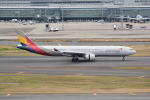 LEGACY-747さんが、羽田空港で撮影したアシアナ航空 A330-323Xの航空フォト(飛行機 写真・画像)