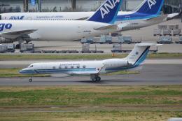LEGACY-747さんが、羽田空港で撮影した海上保安庁 G-V Gulfstream Vの航空フォト(飛行機 写真・画像)