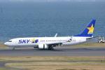 LEGACY-747さんが、羽田空港で撮影したスカイマーク 737-8ALの航空フォト(写真)