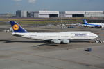 LEGACY-747さんが、羽田空港で撮影したルフトハンザドイツ航空 747-830の航空フォト(飛行機 写真・画像)