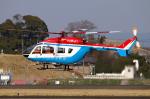 なごやんさんが、名古屋飛行場で撮影した川崎市消防航空隊 BK117C-2の航空フォト(写真)