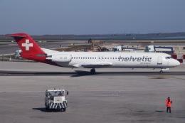 soranchuさんが、ヴェネツィア マルコ・ポーロ国際空港で撮影したヘルベティック・エアウェイズ 100の航空フォト(飛行機 写真・画像)