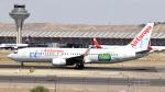 誘喜さんが、マドリード・バラハス国際空港で撮影したエア・ヨーロッパ 737-86Qの航空フォト(写真)