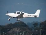 ことこさんが、鹿児島空港で撮影したジャパン・ジェネラル・アビエーション・サービス SR20の航空フォト(写真)