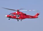 パンサーRP21さんが、朝日航洋川越メンテナンスセンターで撮影した高知県消防・防災航空隊 AW139の航空フォト(写真)