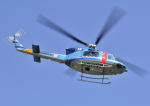 パンサーRP21さんが、朝日航洋川越メンテナンスセンターで撮影した山梨県警察 412EPの航空フォト(写真)