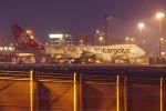 ladyinredさんが、成田国際空港で撮影したカーゴルクス 747-8R7F/SCDの航空フォト(写真)