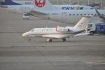 とっちさんが、羽田空港で撮影した国土交通省 航空局 525C Citation CJ4の航空フォト(写真)