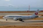 ハピネスさんが、関西国際空港で撮影した日本航空 737-446の航空フォト(飛行機 写真・画像)