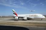 masa707さんが、北京首都国際空港で撮影したエミレーツ航空 A380-861の航空フォト(写真)